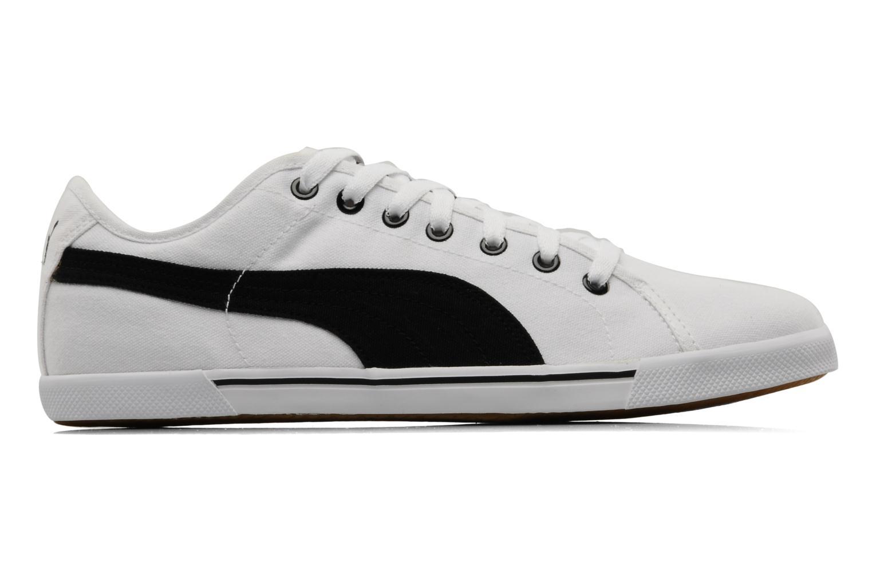Sportschuhe Puma Benecio canvas weiß ansicht von hinten