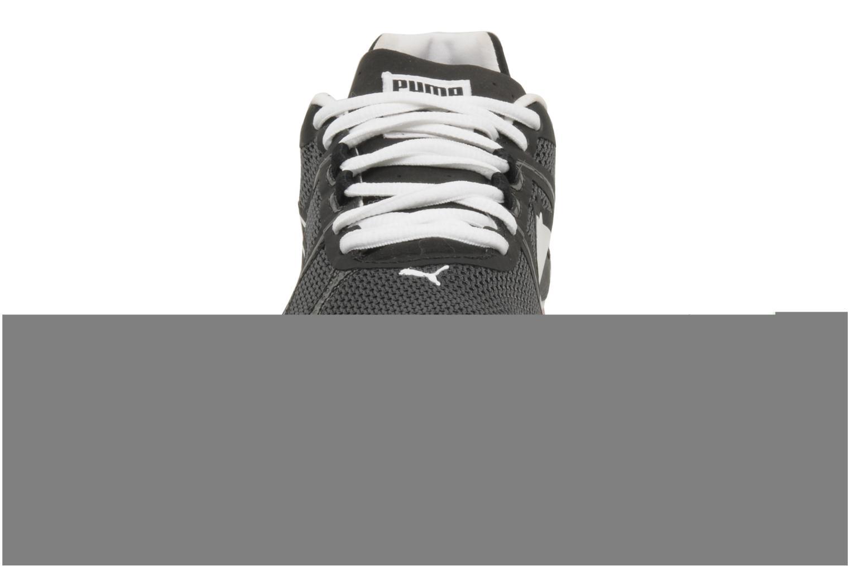 Chaussures de sport Puma Train lite xt mesh wn's Noir vue portées chaussures