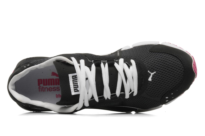 Chaussures de sport Puma Train lite xt mesh wn's Noir vue gauche