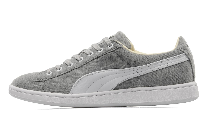 Sneakers Puma Supersuede jersey Grigio immagine frontale