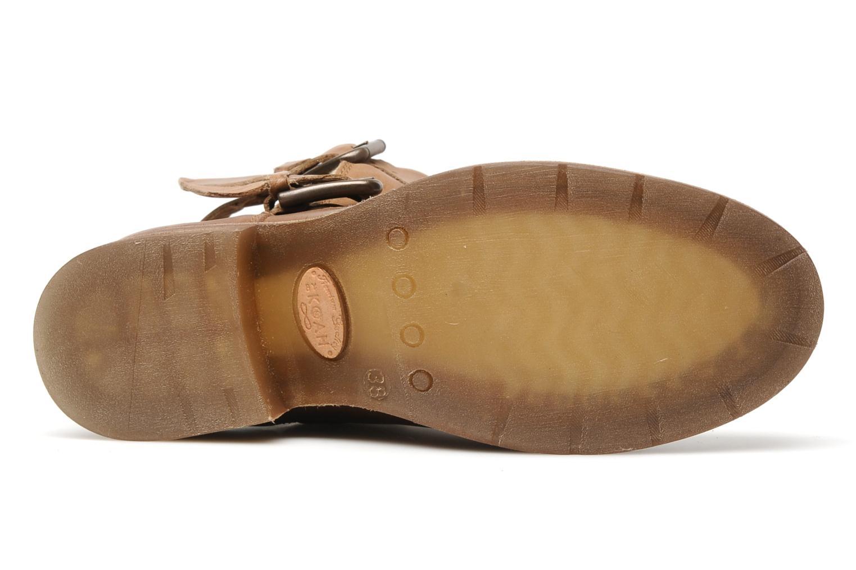 Stiefeletten & Boots Koah Daisy braun ansicht von oben