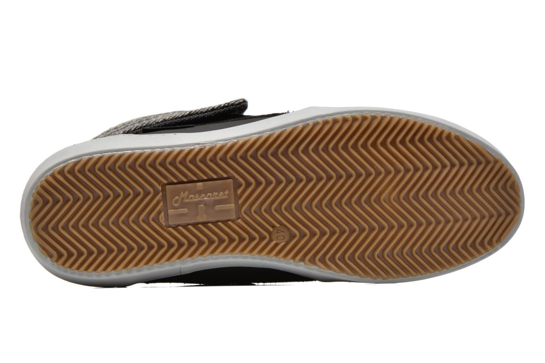 Chaussures à lacets Mascaret Panisse Noir vue haut