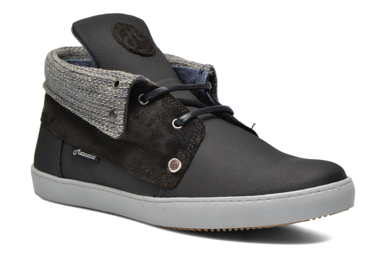 Chaussures à lacets Mascaret Panisse Noir vue détail/paire