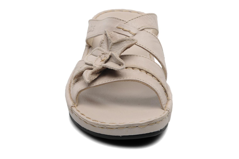 Mules et sabots TBS Bazane Beige vue portées chaussures