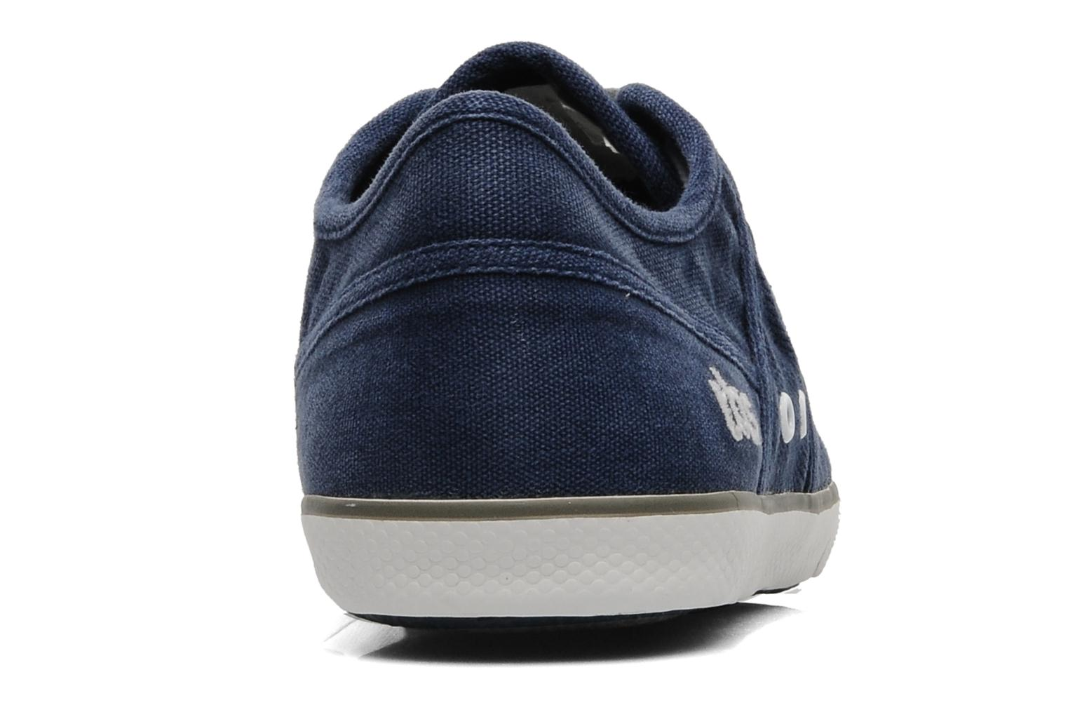 Trainers TBS Violay Blue view from the right