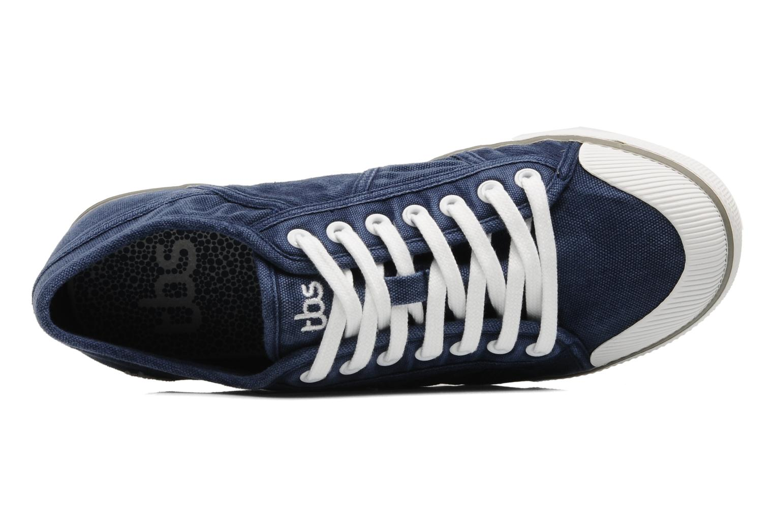 Trainers TBS Violay Blue view from the left