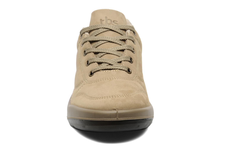 Baskets TBS Easy Walk Albana Beige vue portées chaussures