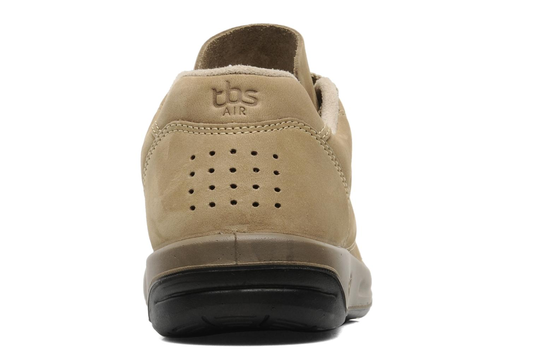 Baskets TBS Easy Walk Albana Beige vue droite