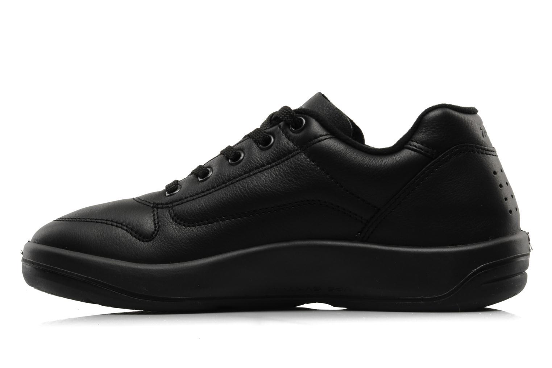 Sneakers TBS Easy Walk Albana Zwart voorkant