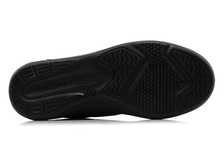 Sneaker TBS Easy Walk Albana schwarz ansicht von oben