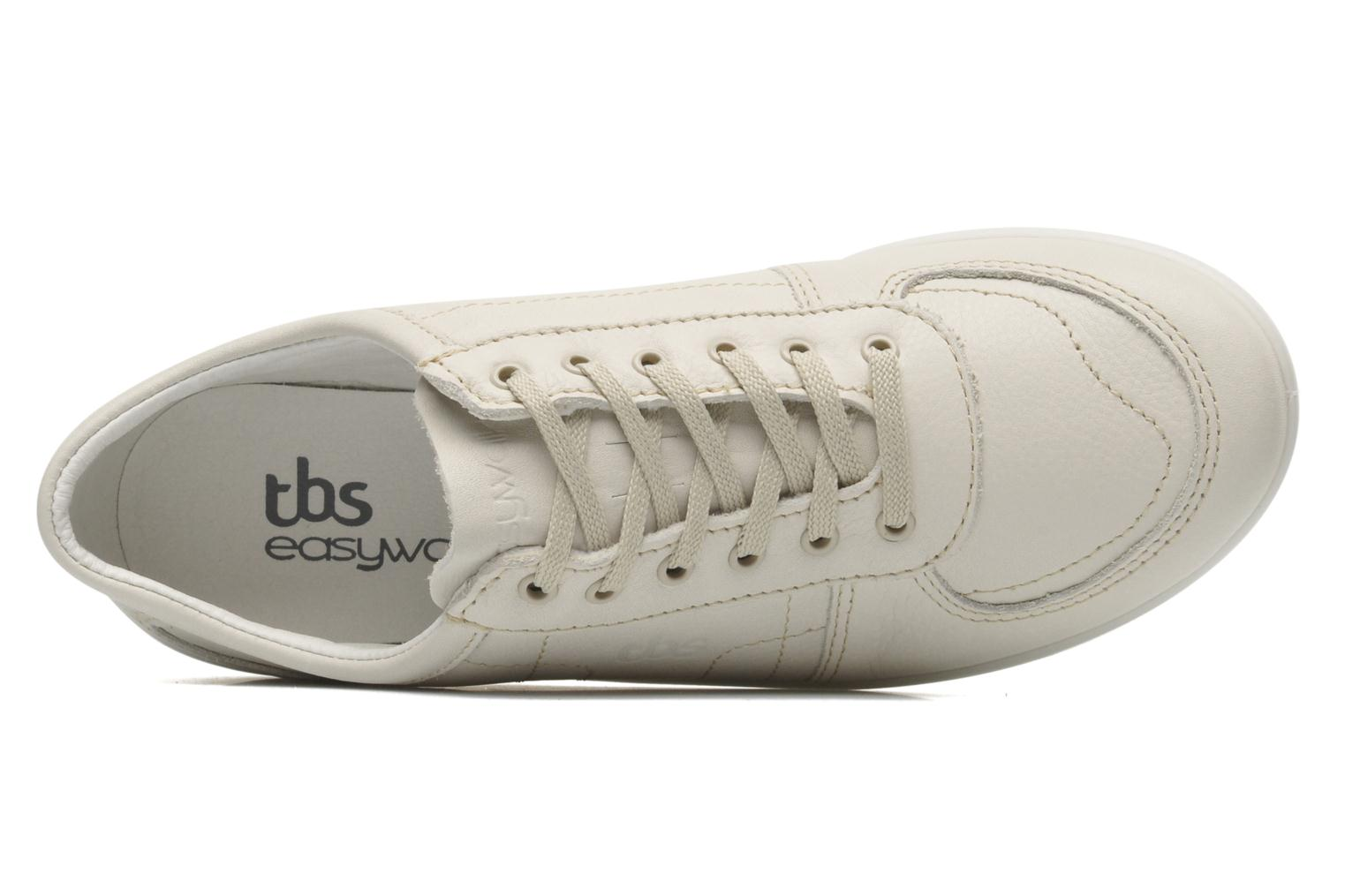 Trainers TBS Easy Walk Astral Beige view from the left