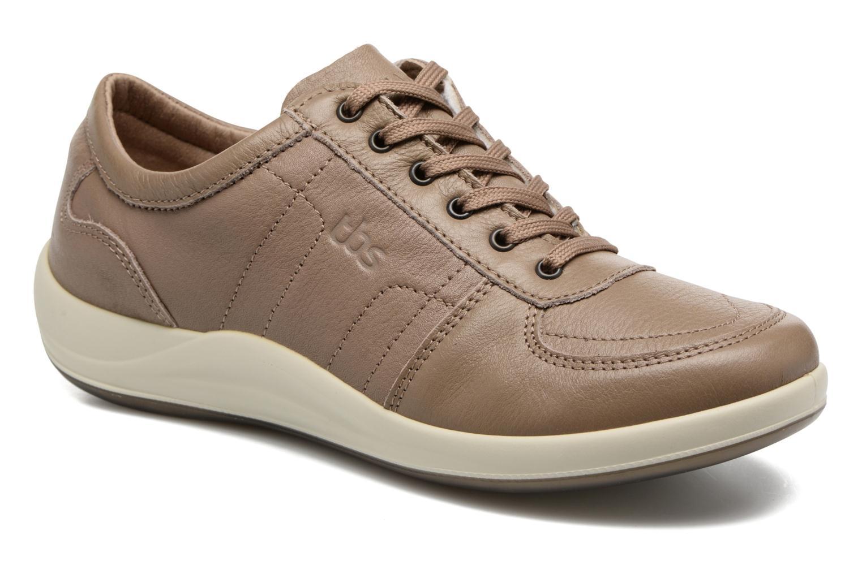 Sneakers TBS Easy Walk Astral Beige detaljeret billede af skoene