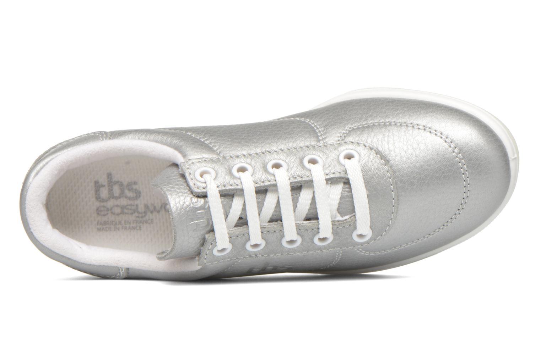 Sneaker TBS Easy Walk Brandy grau ansicht von links