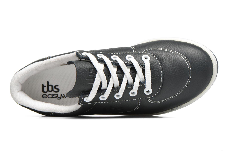 Baskets TBS Easy Walk Brandy Bleu vue gauche