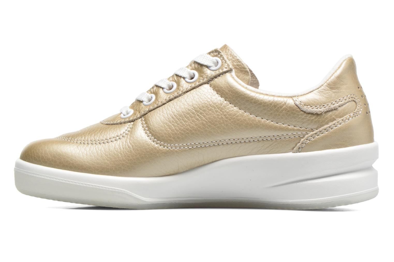 Sneakers TBS Easy Walk Brandy Goud en brons voorkant