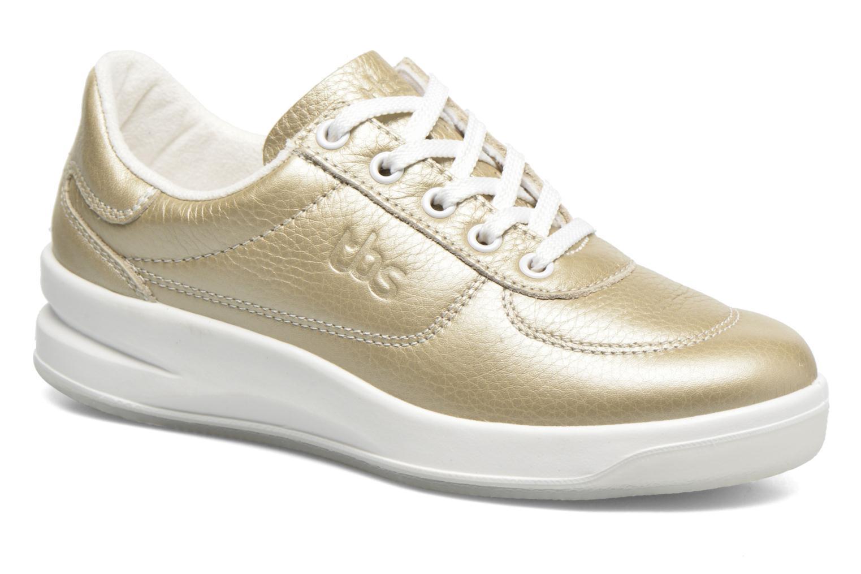 Sneakers TBS Easy Walk Brandy Goud en brons detail