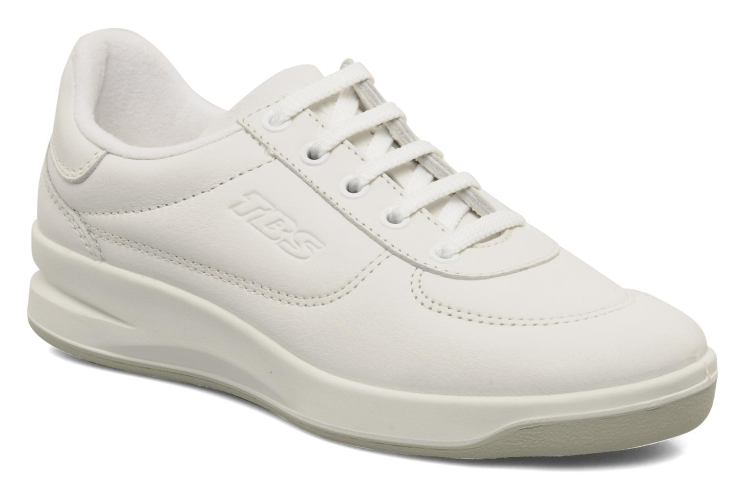 Trainers TBS Easy Walk Brandy White detailed view/ Pair view