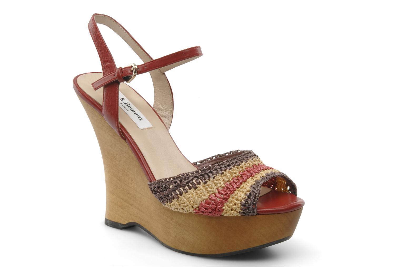 Sandales et nu-pieds L.K. Bennett MAC Multicolore vue détail/paire