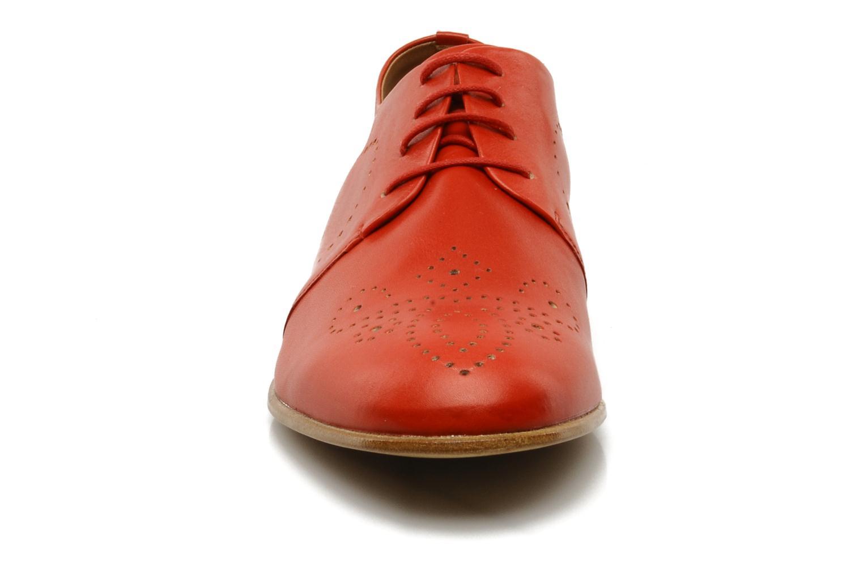 Schnürschuhe Fratelli Rossetti Martina rot schuhe getragen