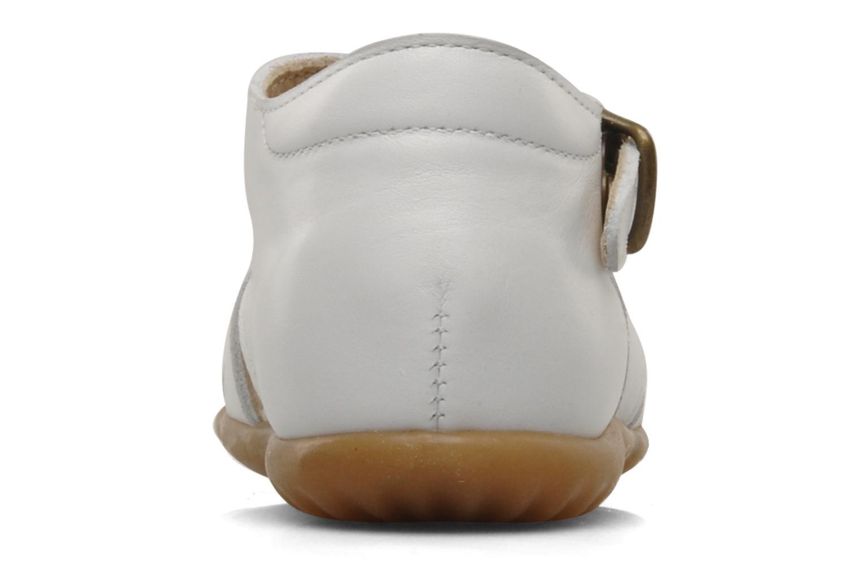 Sandales et nu-pieds PèPè Bongo Blanc vue droite