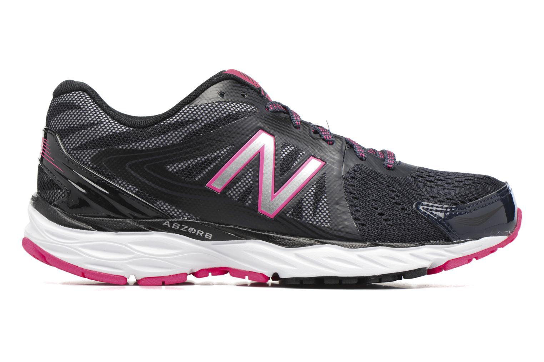 Chaussures de sport New Balance W680 Gris vue derrière