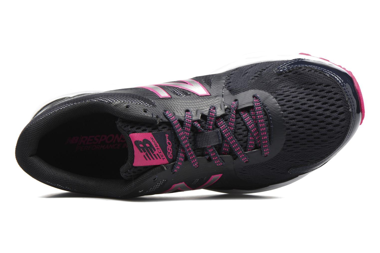 Chaussures de sport New Balance W680 Gris vue gauche