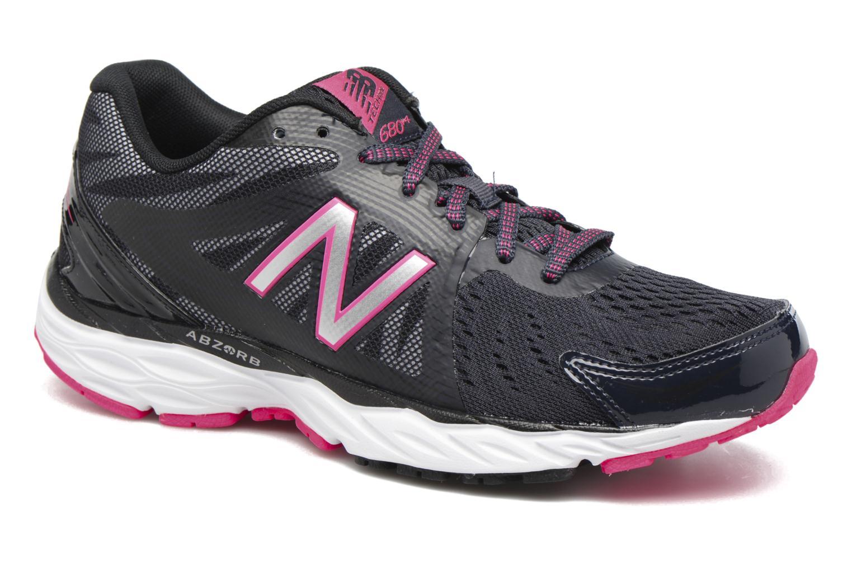 Chaussures de sport New Balance W680 Gris vue détail/paire
