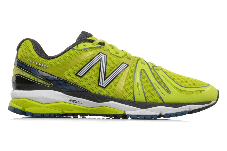 Chaussures de sport New Balance M890 Jaune vue derrière