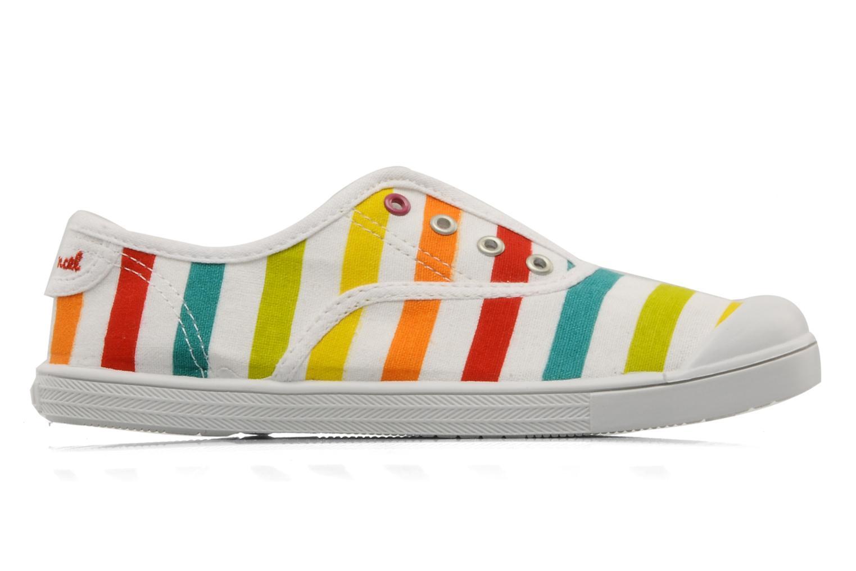 Sneakers Little Marcel Benistic Print Multicolor achterkant