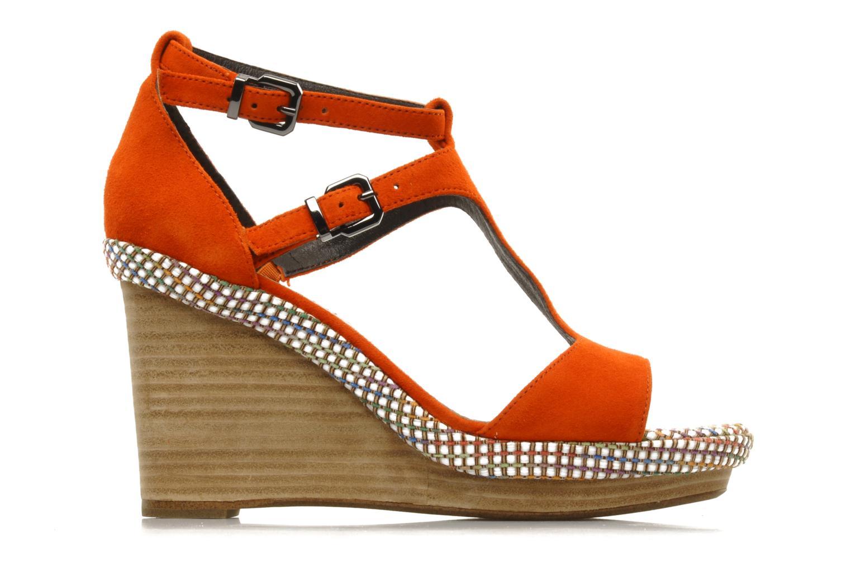 Sandals JB MARTIN Nabou Orange back view