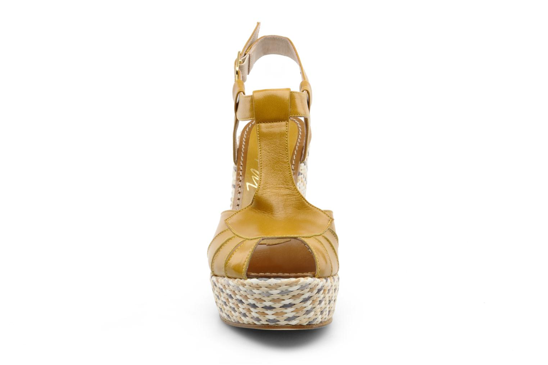 Sandales et nu-pieds JB MARTIN Inite Marron vue portées chaussures