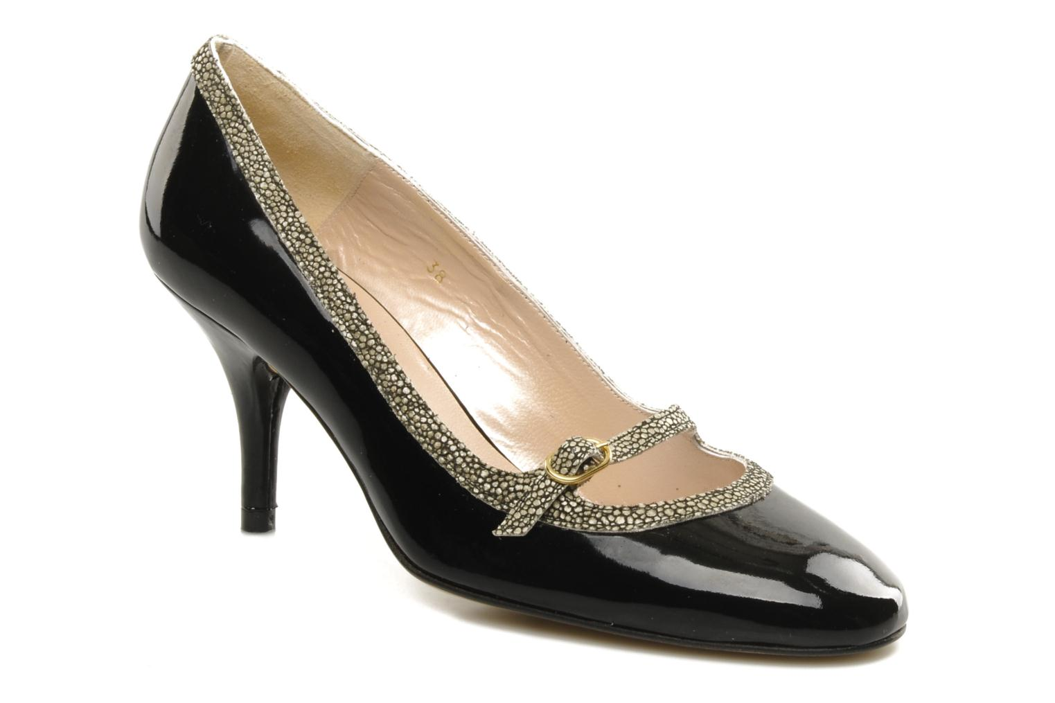Pumps JB MARTIN Escarpin Barbade Zwart detail