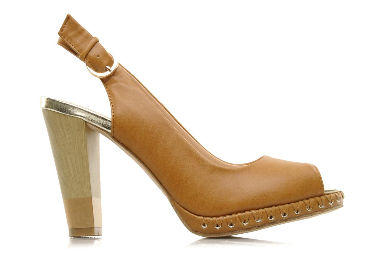 Sandales et nu-pieds Chocolate Schubar Celeste Beige vue derrière
