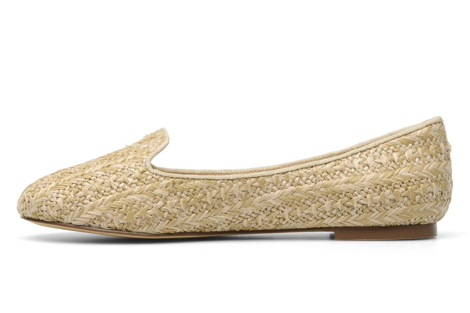 Loafers Chocolate Schubar Chiara Beige front view