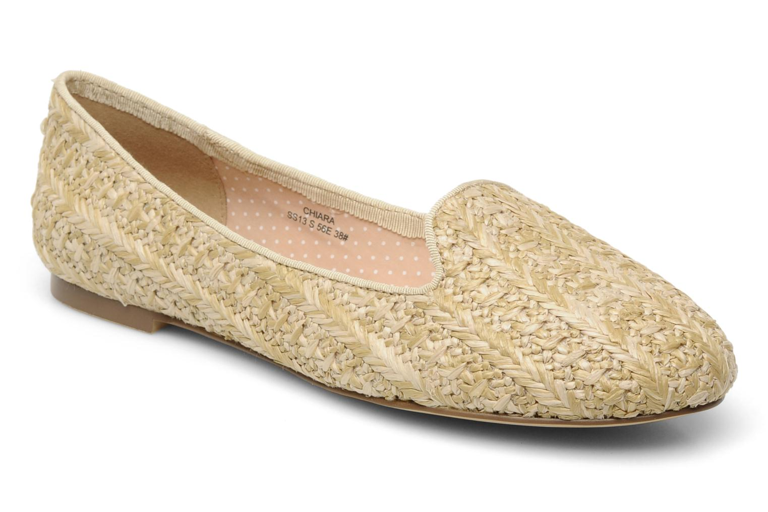 Loafers Chocolate Schubar Chiara Beige detailed view/ Pair view