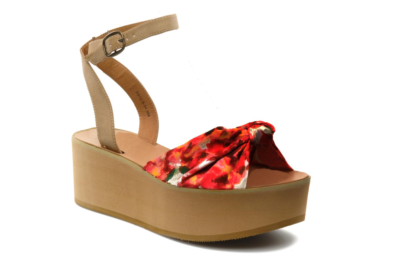 Sandales et nu-pieds Chocolate Schubar Bambi Rose vue détail/paire