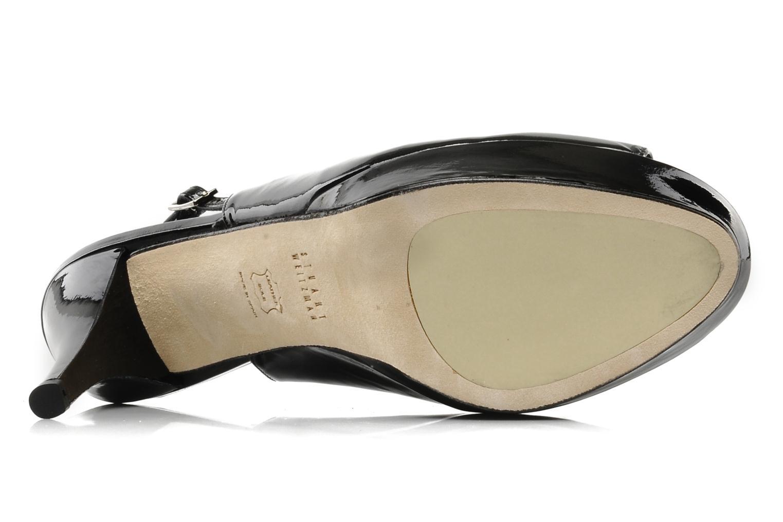 Sandales et nu-pieds Stuart Weitzman Nyon Noir vue haut