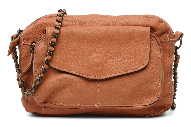 Naina Leather Crossover Peach