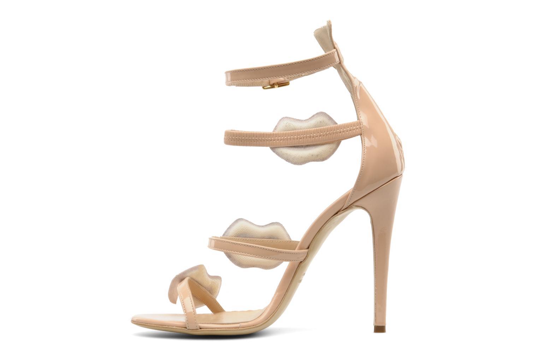 Sandales et nu-pieds Paul & Betty PrettyLips bis Beige vue face