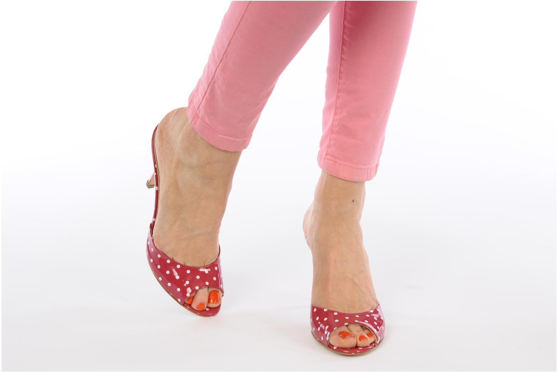 Clogs & Pantoletten Paul & Betty Poupsy Bis rosa ansicht von unten / tasche getragen