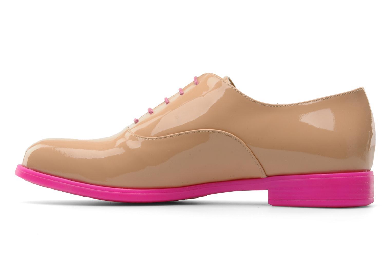Chaussures à lacets Paul & Betty Rozy Beige vue face