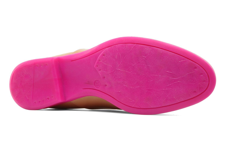 Chaussures à lacets Paul & Betty Rozy Beige vue haut