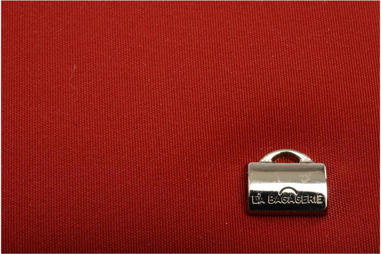 Pelletteria La Bagagerie ZIP WALLET Rosso immagine sinistra