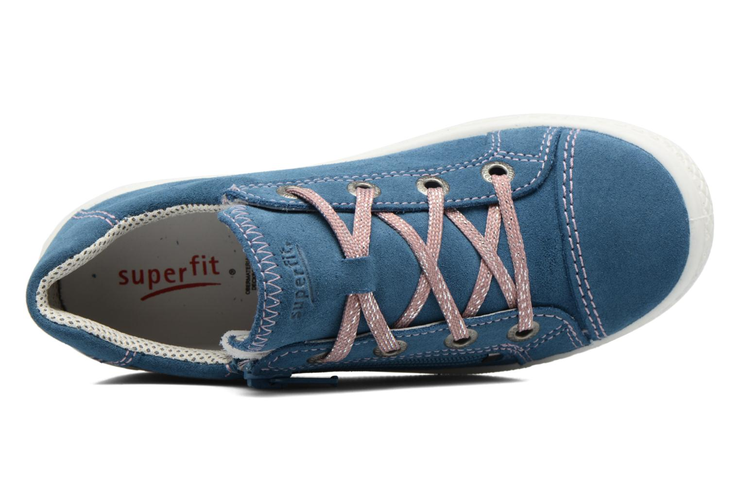 Trainers Superfit Tensy Blue view from the left