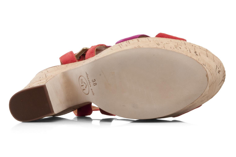 Sandales et nu-pieds Ash Hysteria Sandale Rose vue haut