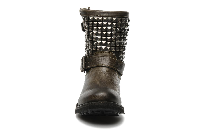 Bottines et boots Ash Titan Gris vue portées chaussures