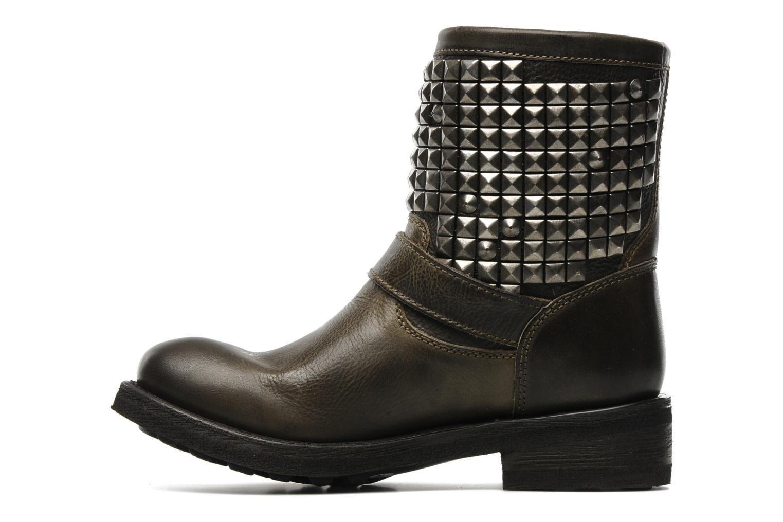 Bottines et boots Ash Titan Gris vue face