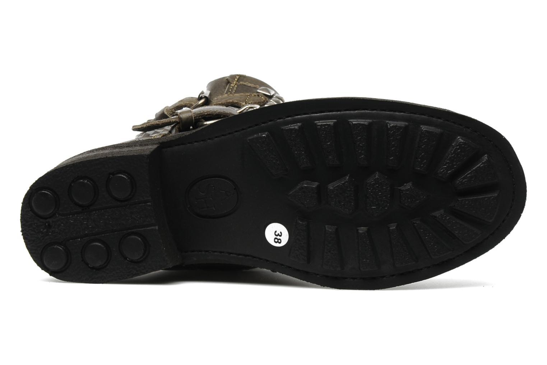 Stiefeletten & Boots Ash Titan grau ansicht von oben