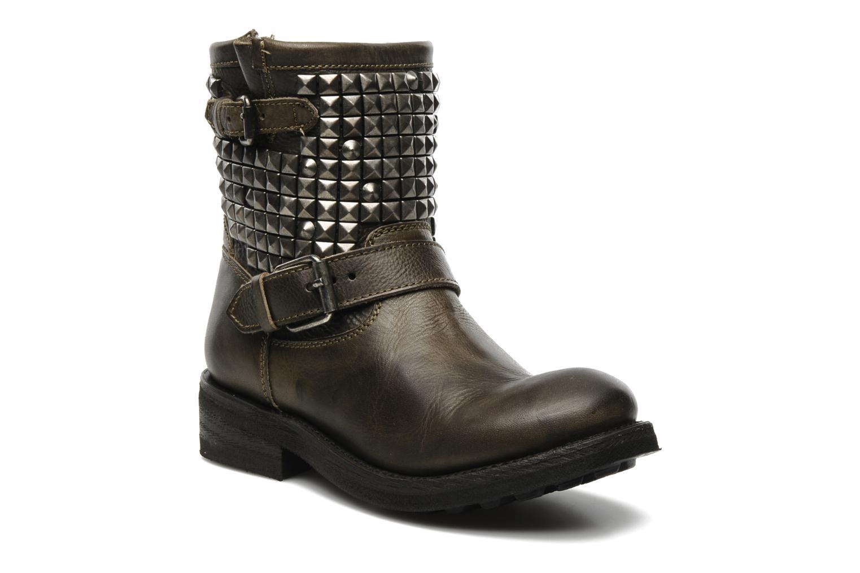 Bottines et boots Ash Titan Gris vue détail/paire