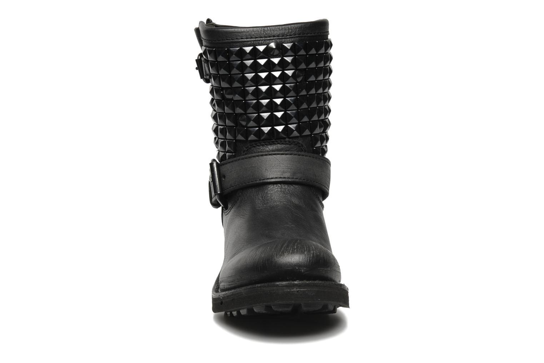 Bottines et boots Ash Titan Noir vue portées chaussures